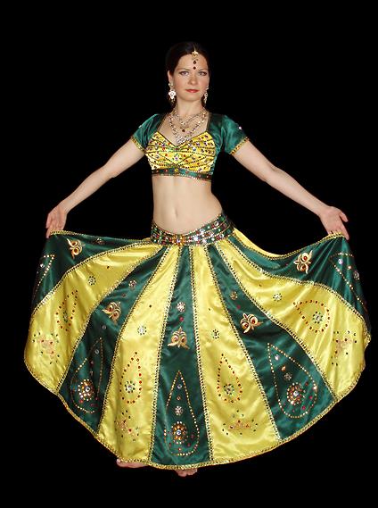 Как сшить костюм для индийского танца своими руками